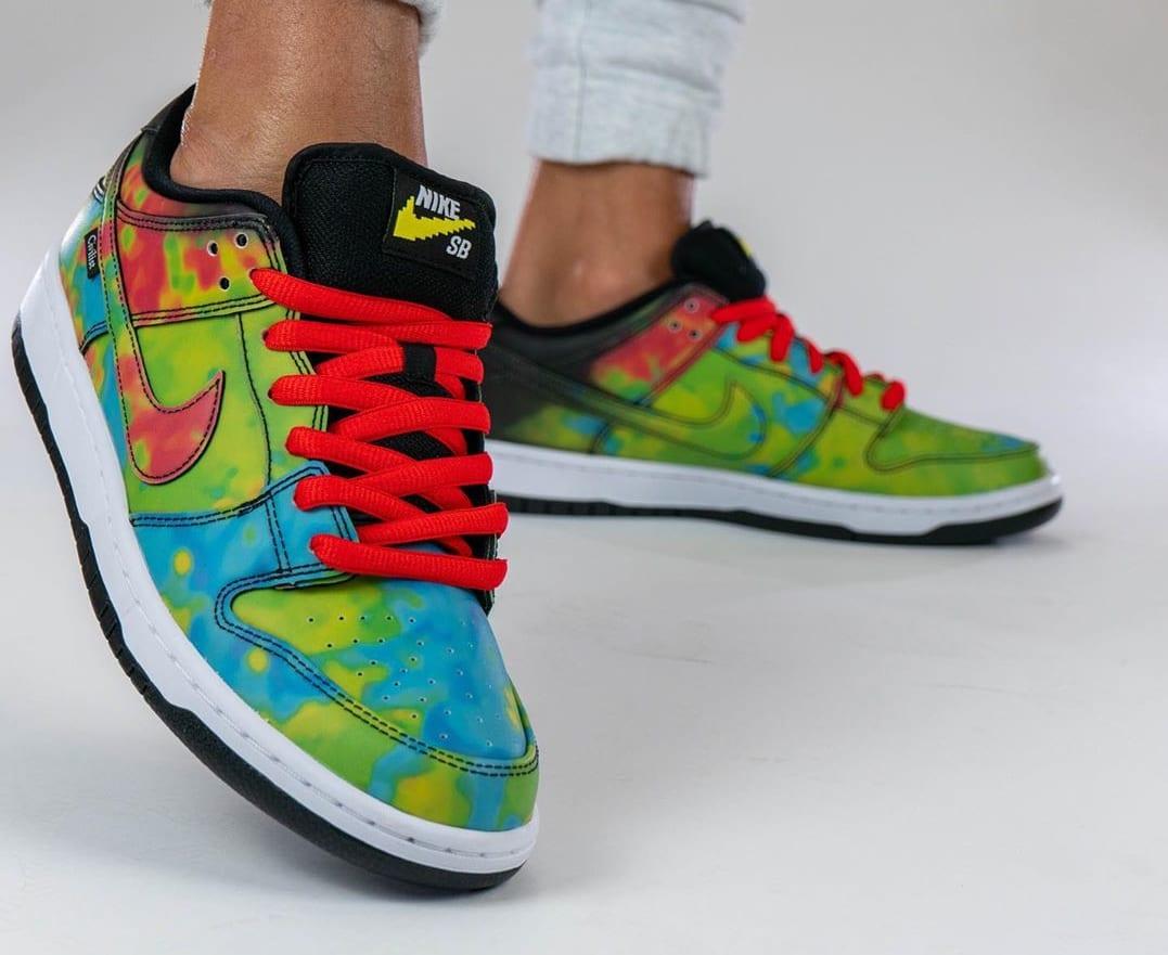Civilist x Nike SB Dunk Low Black/Multicolor CZ5123-001 Toe