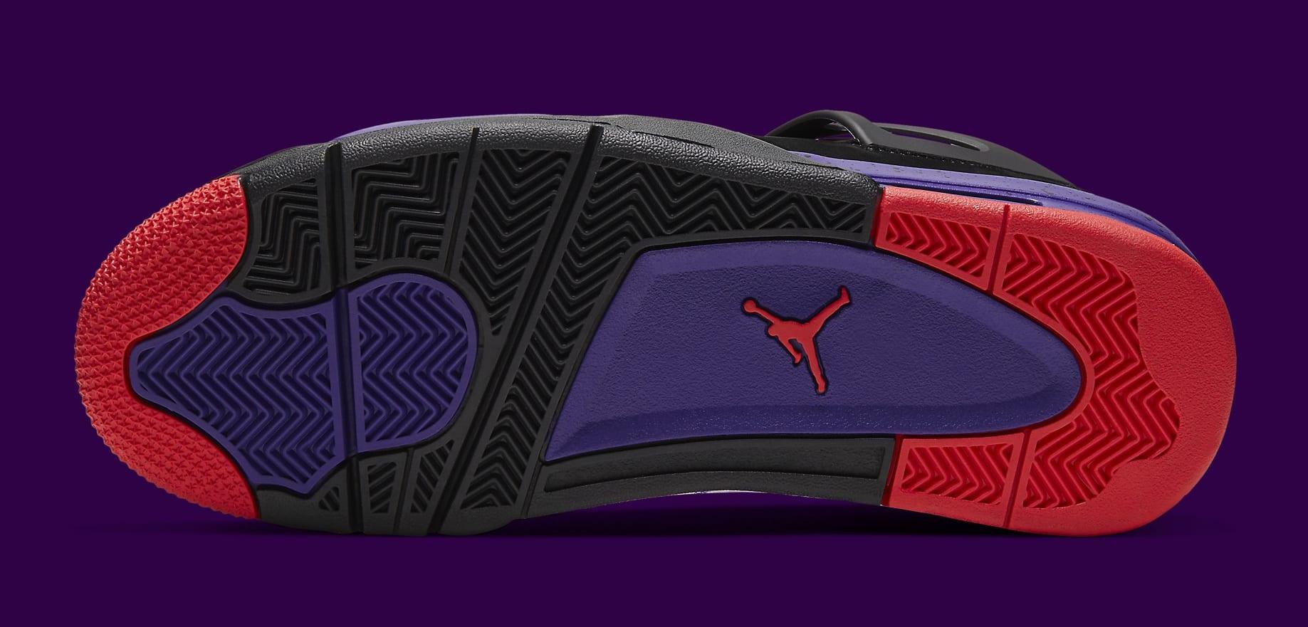 Air Jordan 4 Retro 'Raptors' AQ3816-056 Sole