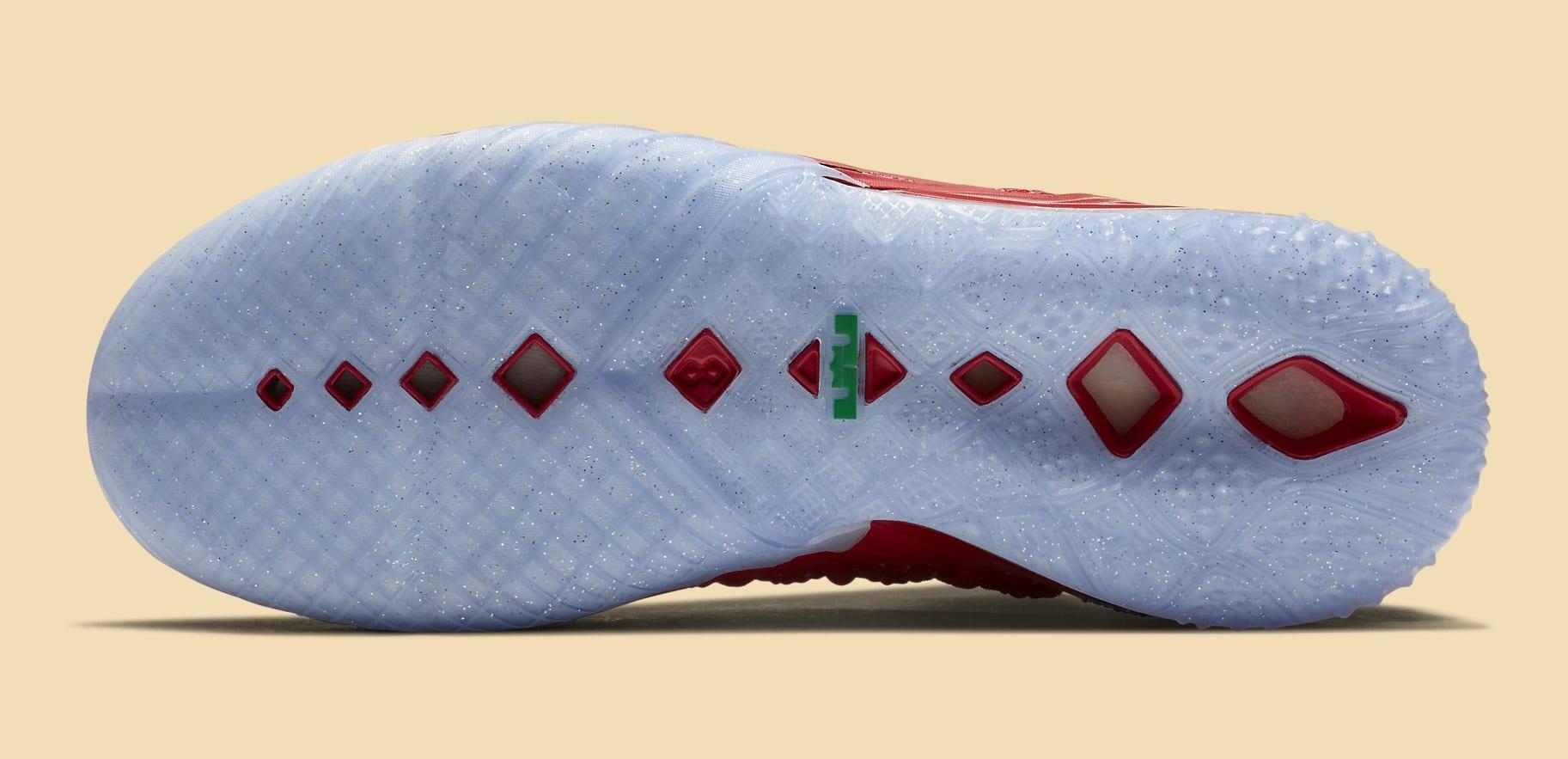 Nike LeBron 18 X-Mas in LA Release Date DB8148-601 Sole