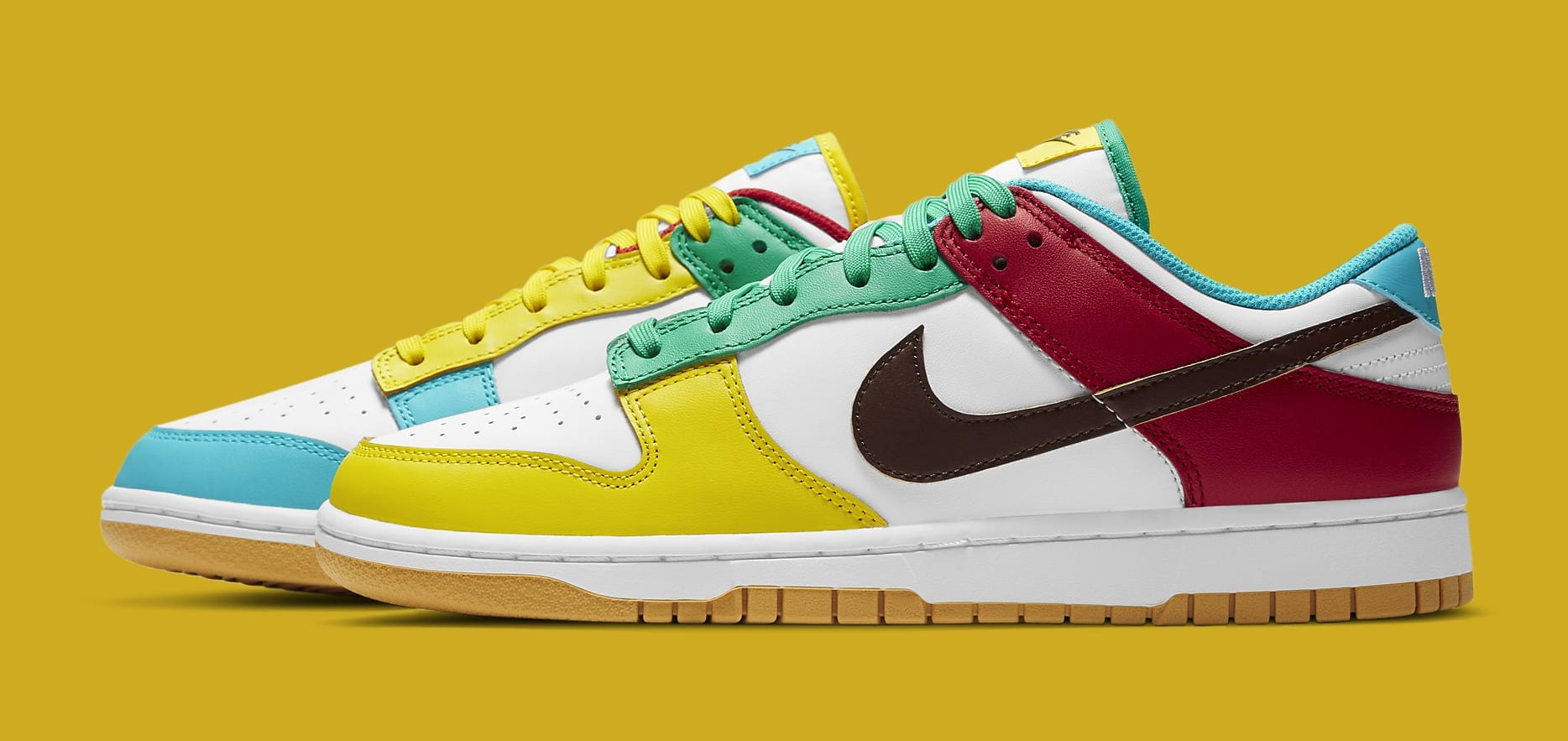 Nike Dunk Low 'Free.99 White' DH0952-100 Lateral