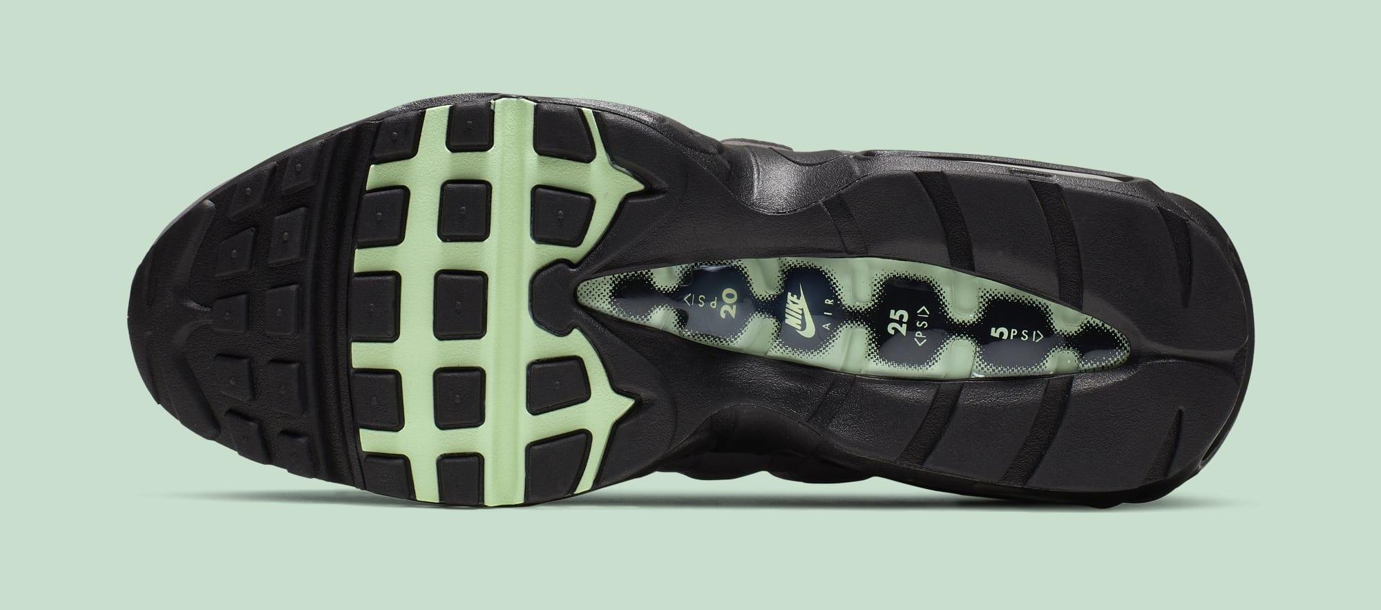 Nike Air Max 95 'Fresh Mint' CD7495-101 (Bottom)
