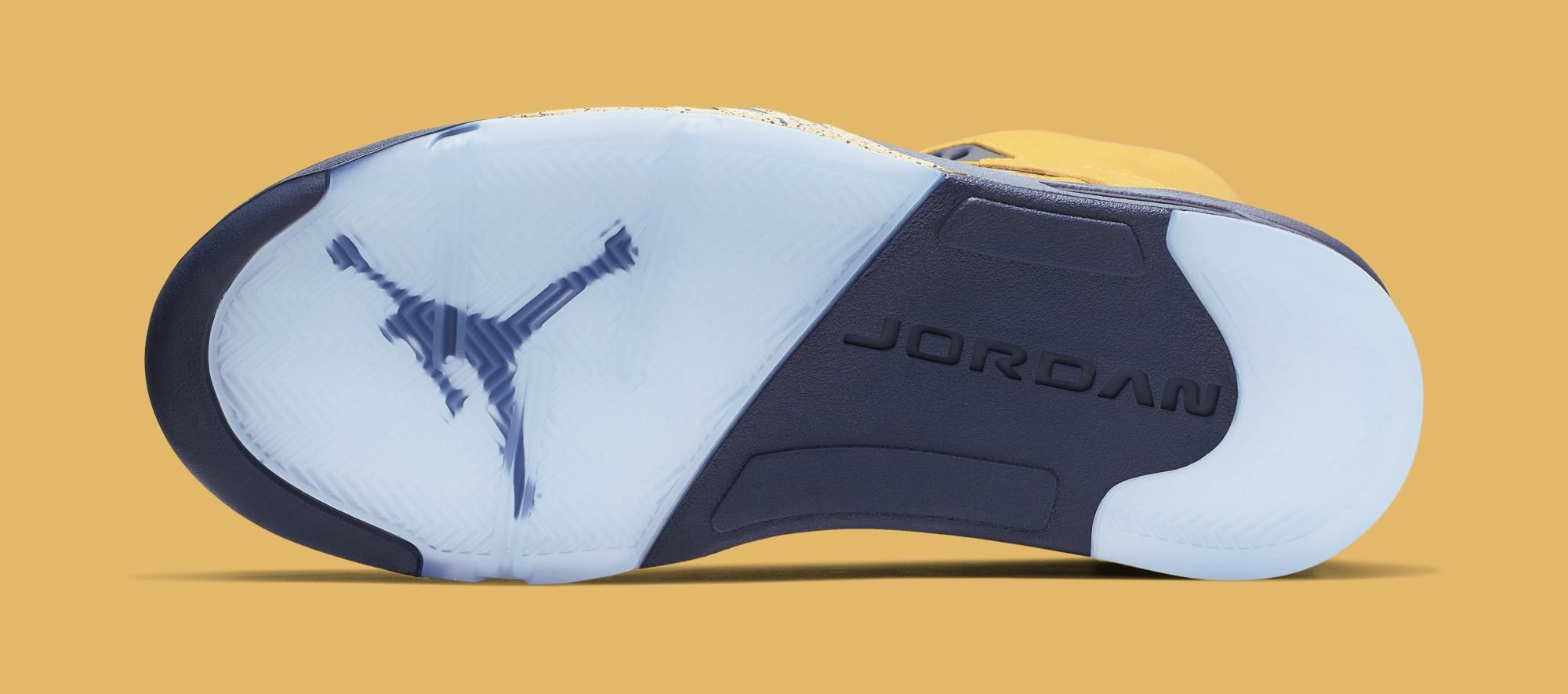 Air Jordan 5 'Michigan' CQ9541-704 (Bottom)