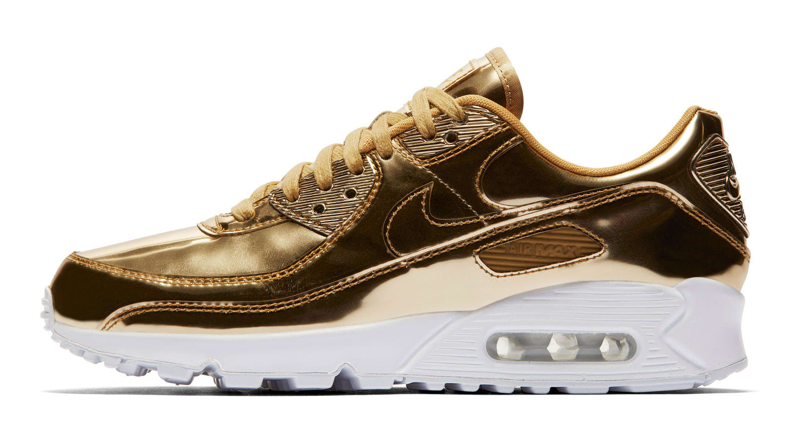Nike Air Max 90 Gold 'Metallic Pack'