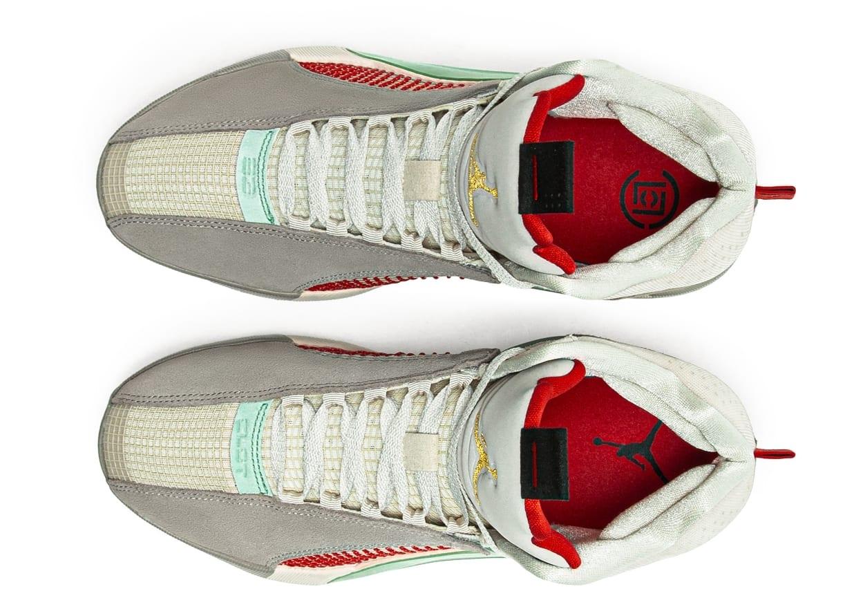 CLOT x Air Jordan 35 XXXV Release Date DD9322-200 Top