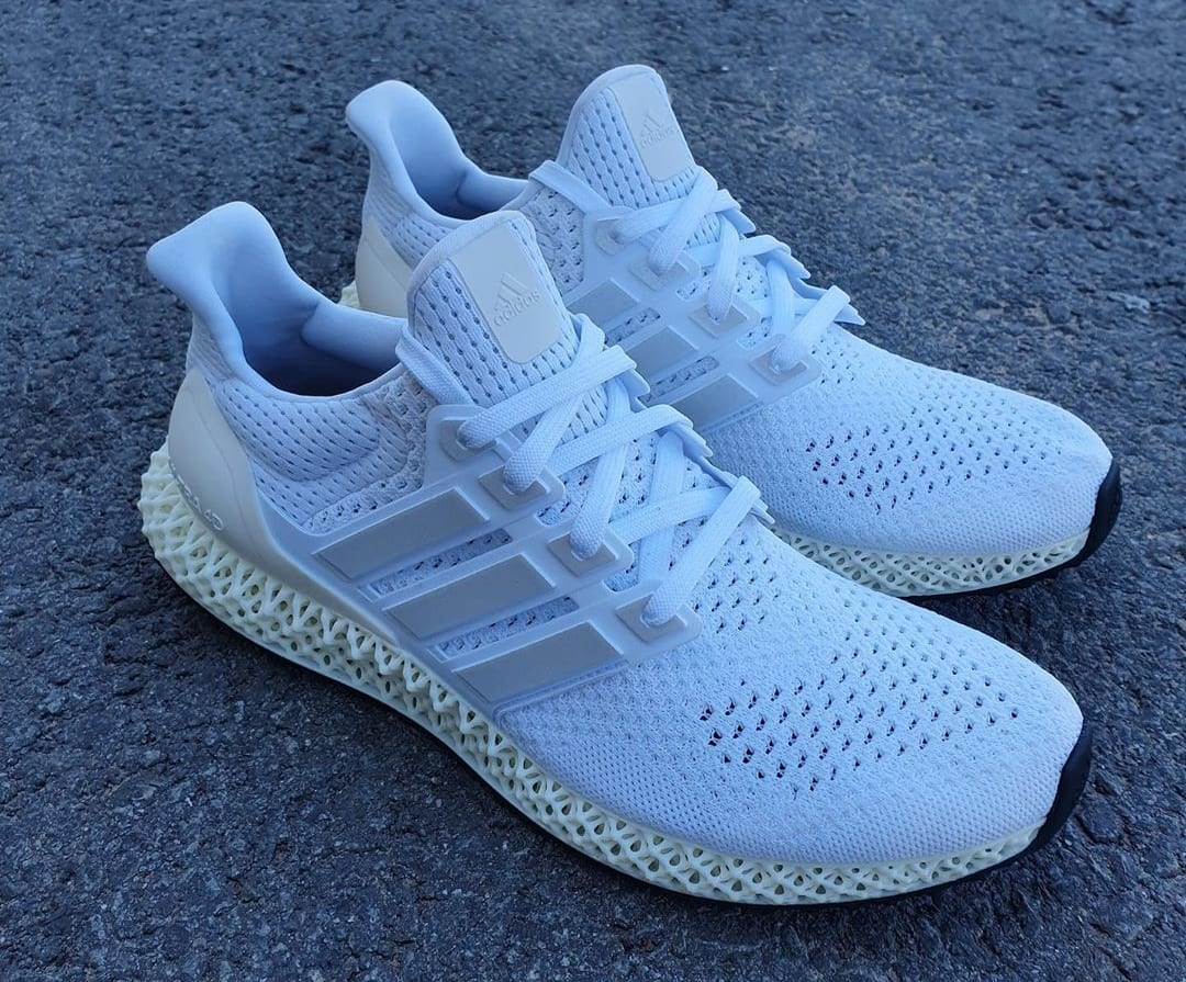 Adidas Is Giving the Ultra Boost a 4D-Printed Midsole