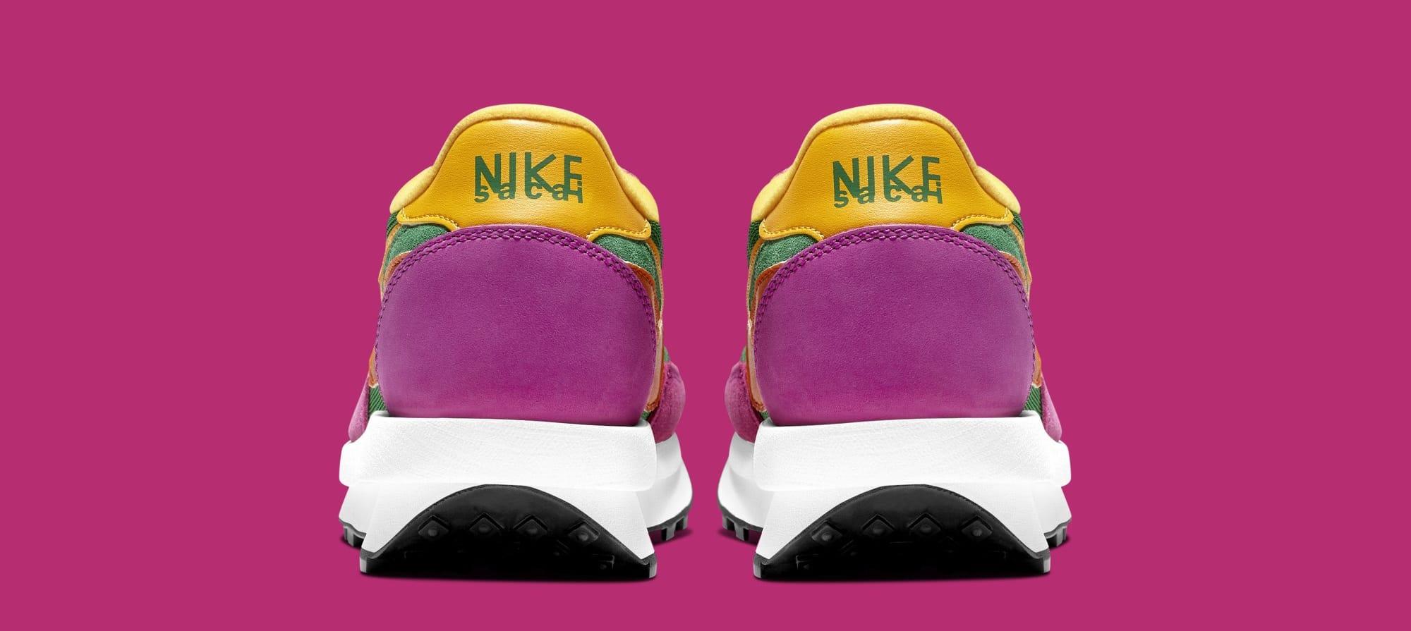 Sacai x Nike LDWaffle BV0073-301 (Heel)