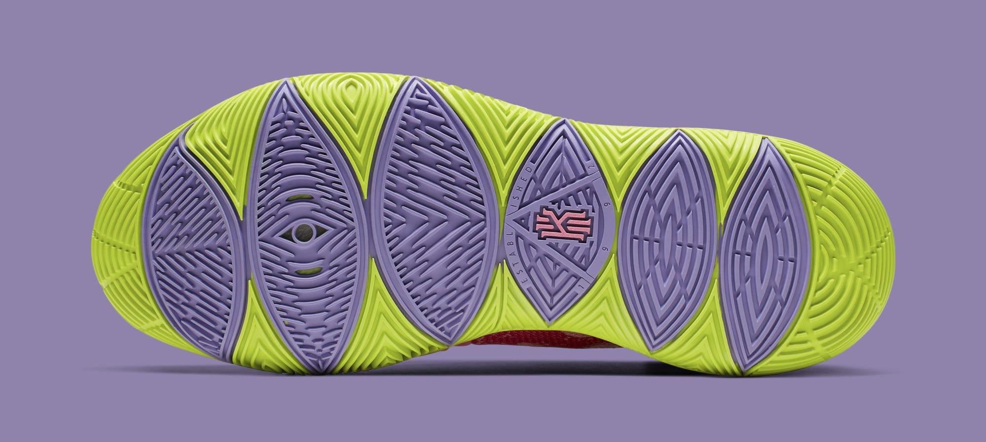 'SpongeBob SquarePants' x Nike Kyrie 5 'Patrick Star' CJ6951-600 (Bottom)