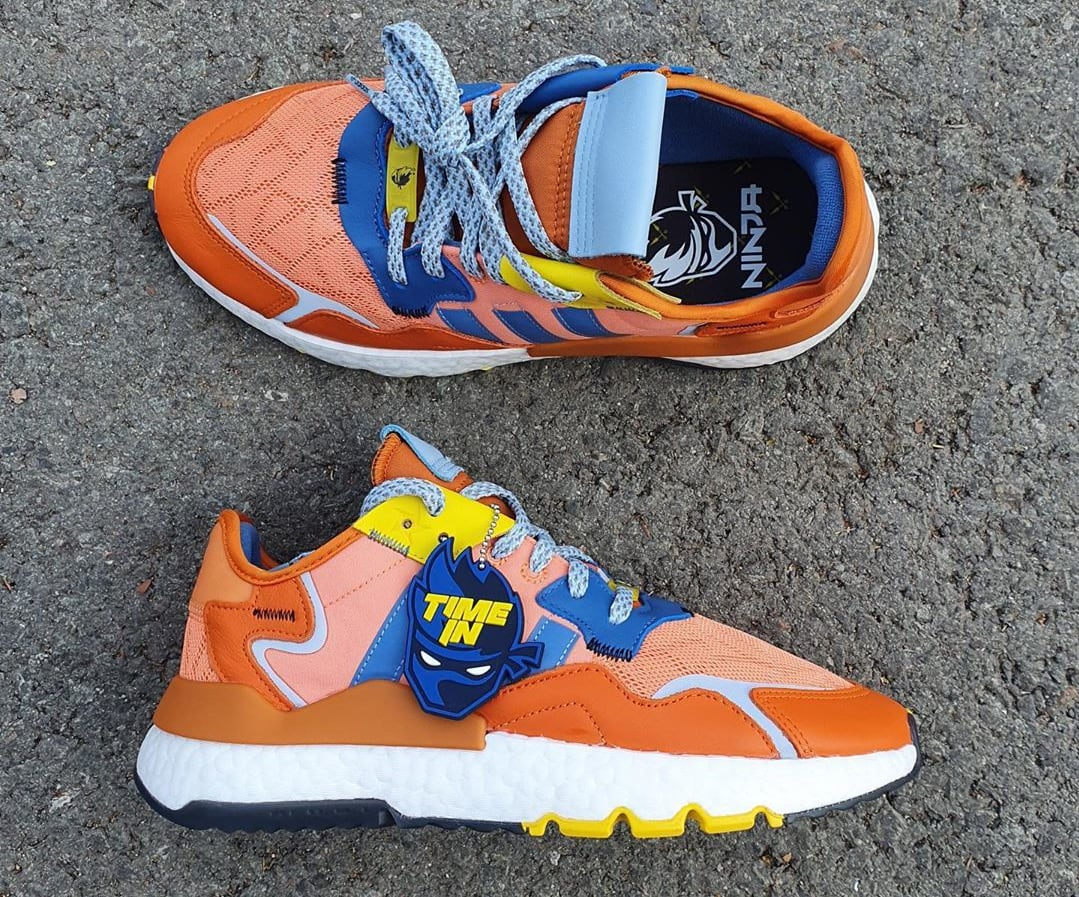 Ninja x Adidas Nite Jogger 'Orange' 047199 Top