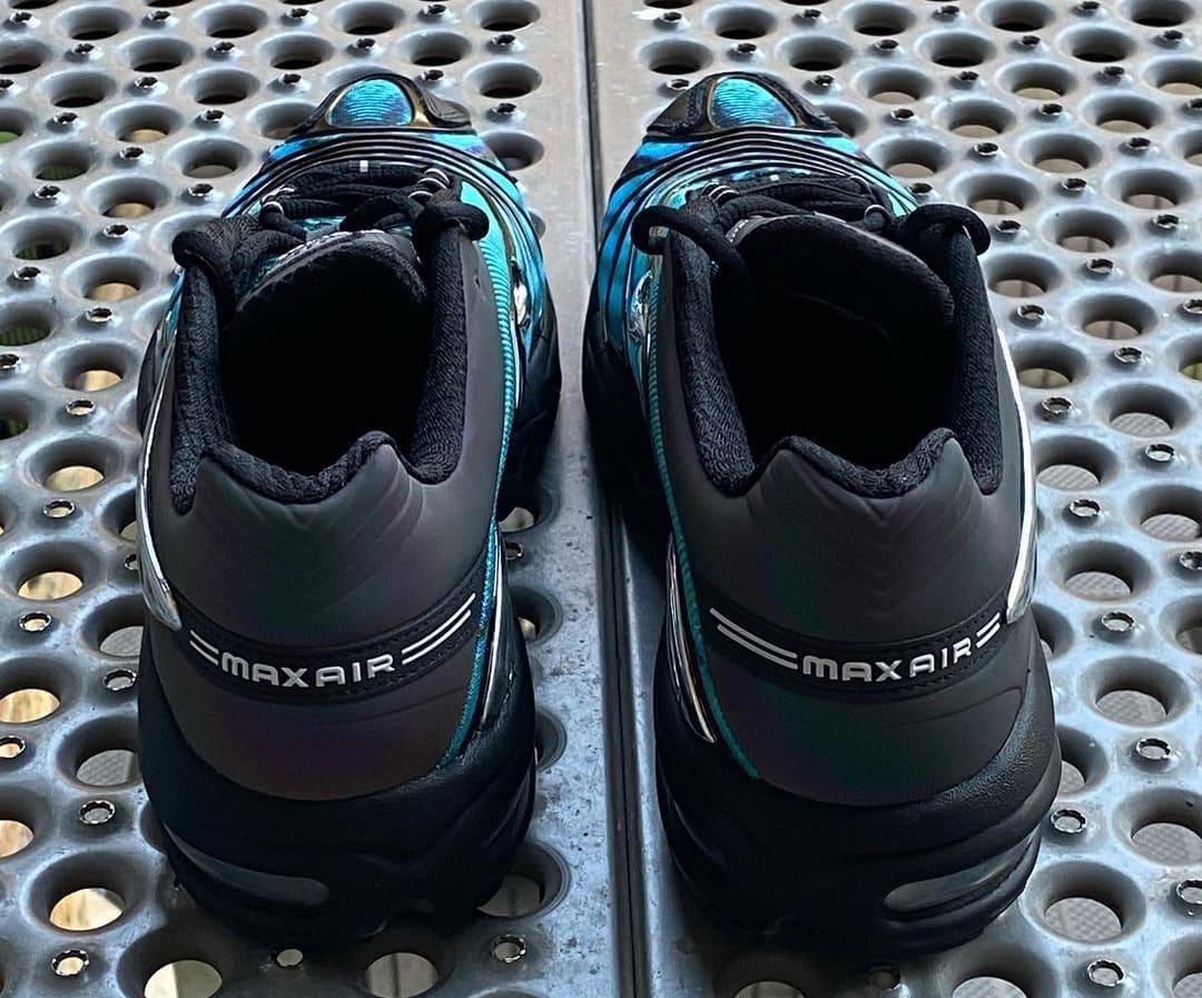 Skepta x Nike Air Tailwind V 'Blue' (Heel)