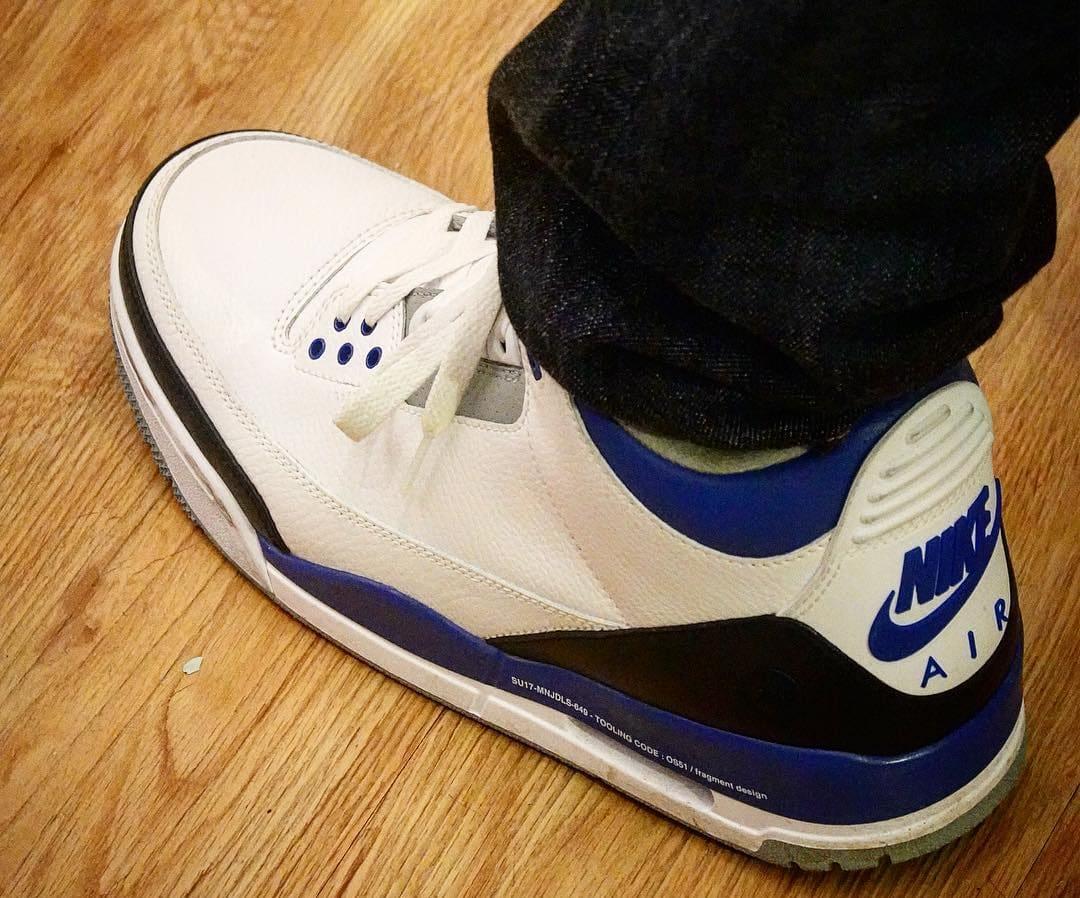 Hiroshi Fujiwara x Air Jordan 3 3