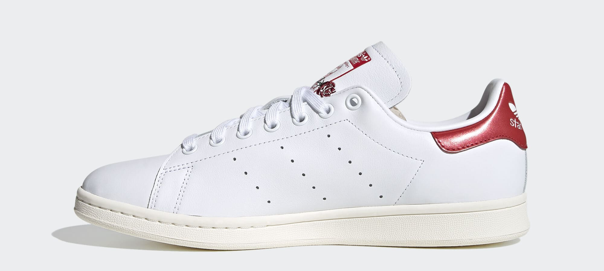 Adidas Stan Smith 'Valentine's Day' (Red) EH1736 (Medial)