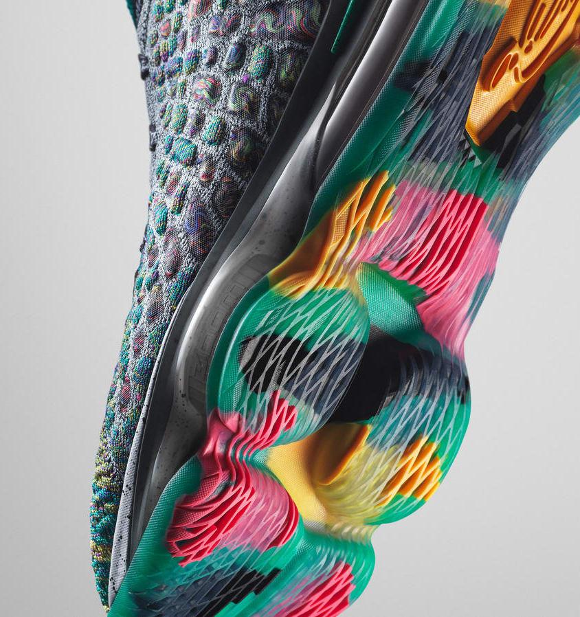 Nike LeBron 17 'I Promise' (Sole)