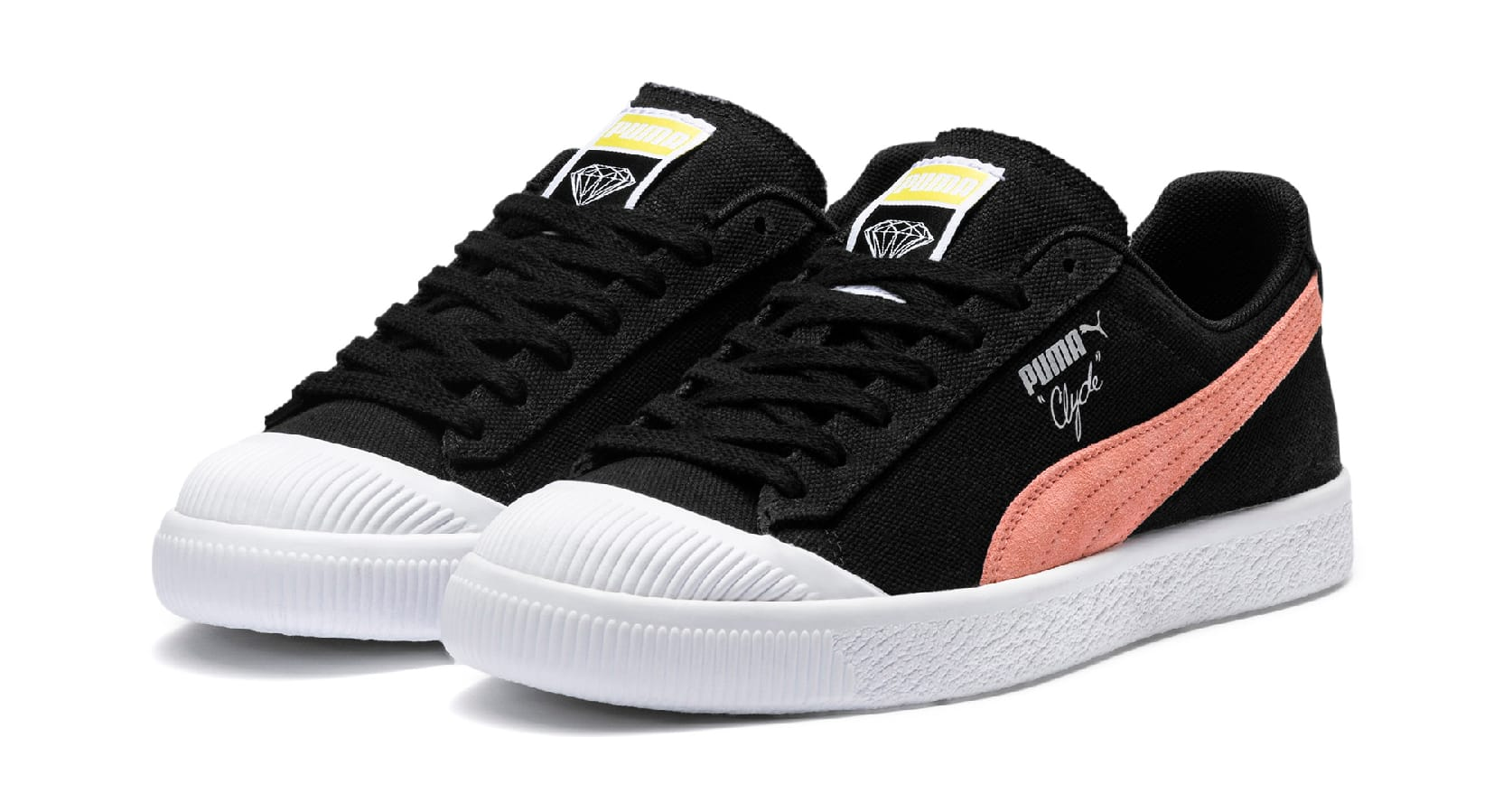 Diamond Supply Co. x Puma Clyde 369397 (Pair)