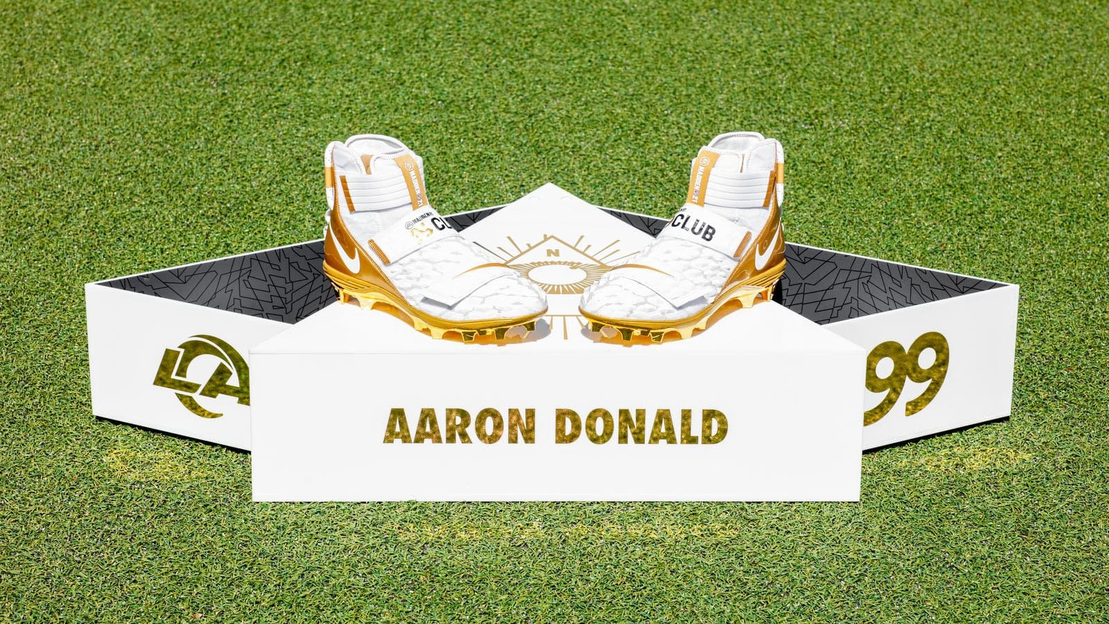 Aaron Donald Madden 99 Club Nike Cleats