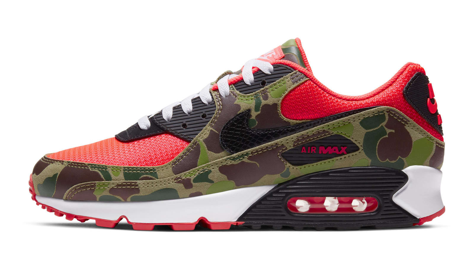 Nike Air Max 90 'Infrared Duck Camo'