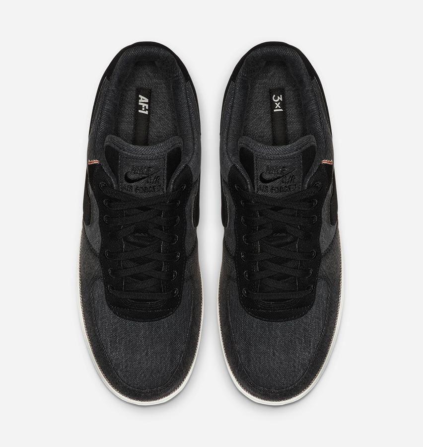 3x1 x Nike Air Force 1 Low 'Black' (Top)
