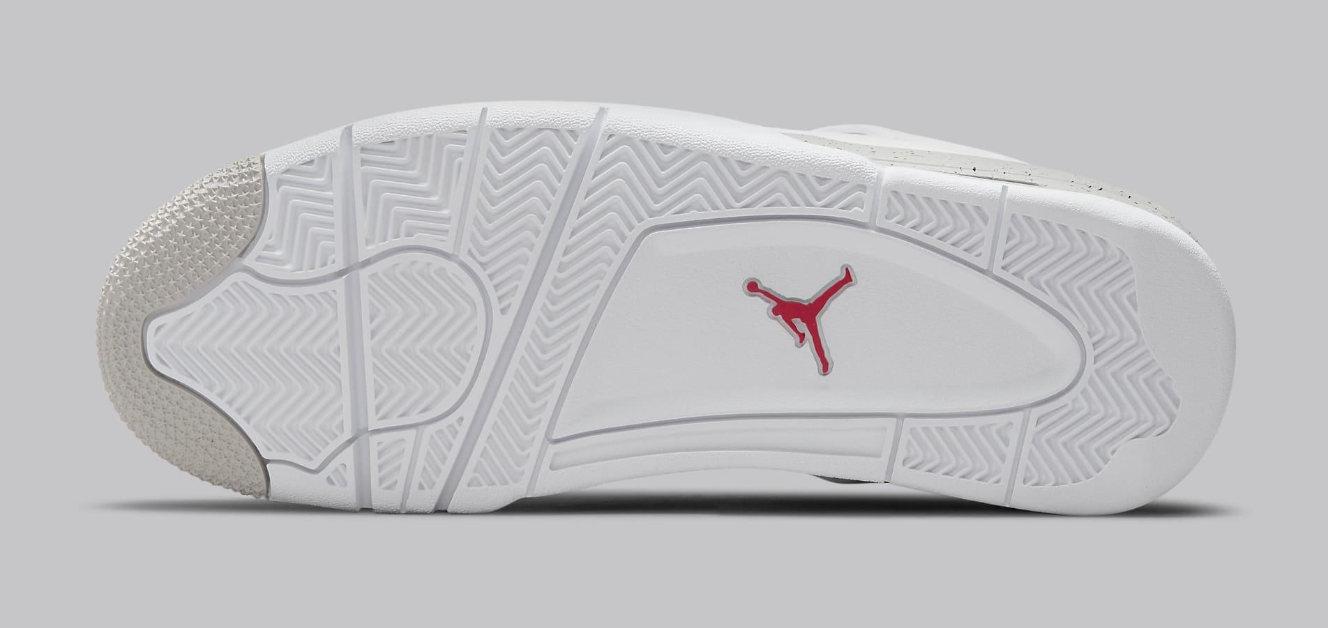 Air Jordan 4 Retro 'White Oreo' CT8527-100 Outsole