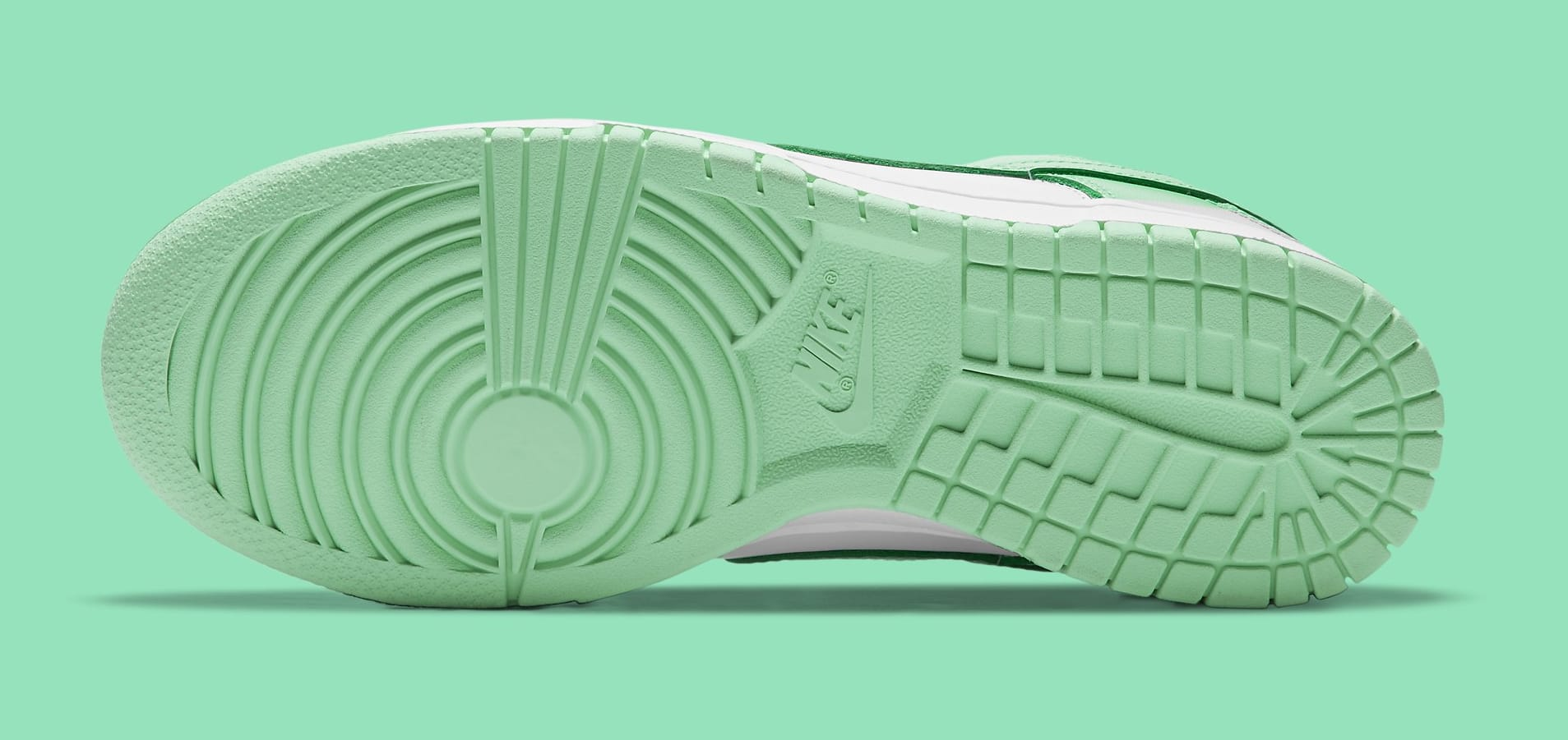 Nike Dunk Low Women's 'Green Glow' DD1503-105 Outsole