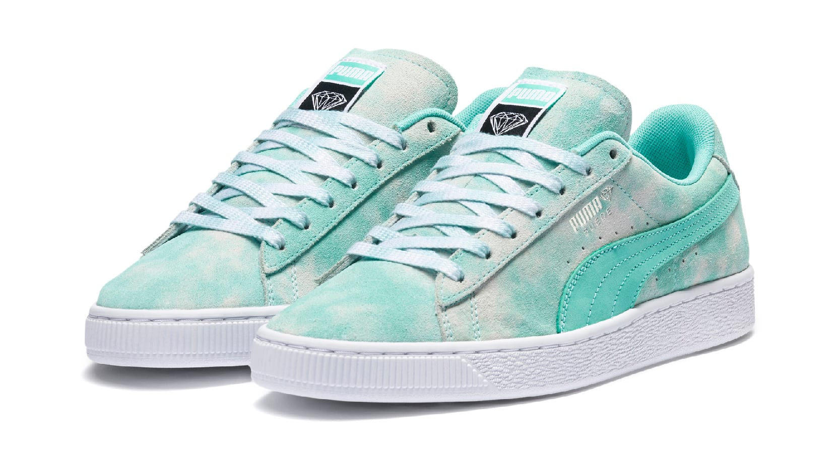 Diamond Supply Co. x Puma Suede 369396 (Pair)