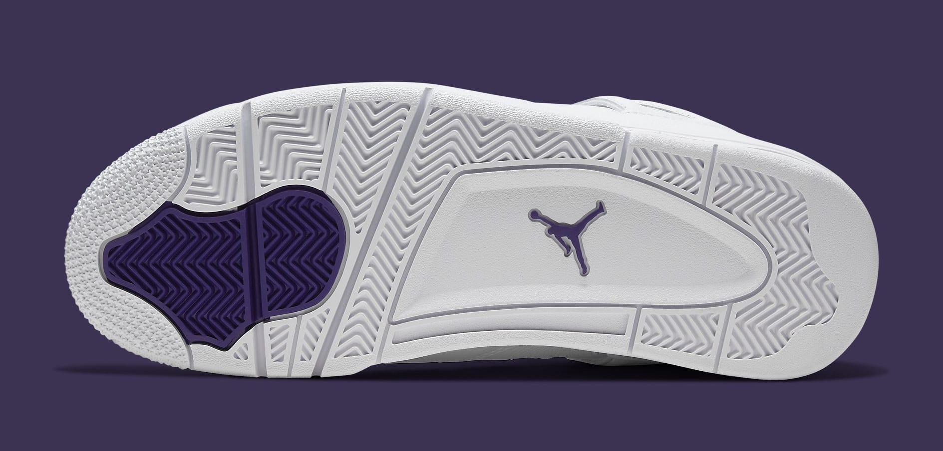 Air Jordan 4 Retro 'Metallic Purple' CT8527-115 Outsole