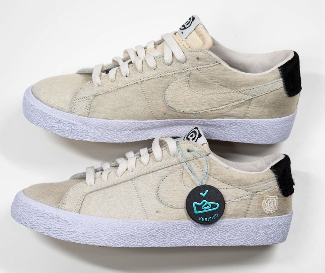 Medicom x Nike SB Blazer Low 'Be@rbrick' Sample CZ4620-200 Side