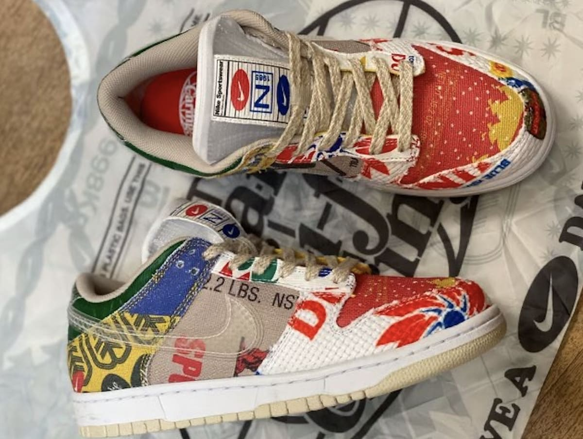 Nike Dunk Low 'Thank You For Caring' DA6125-900 Side