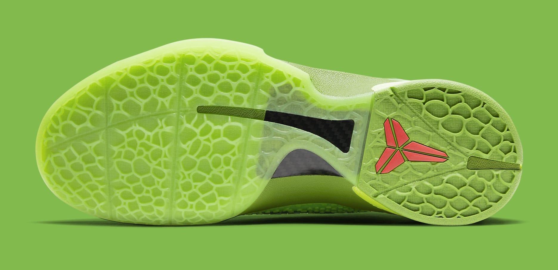 Nike Kobe 6 Protro 'Grinch' CW2190-300 Outsole