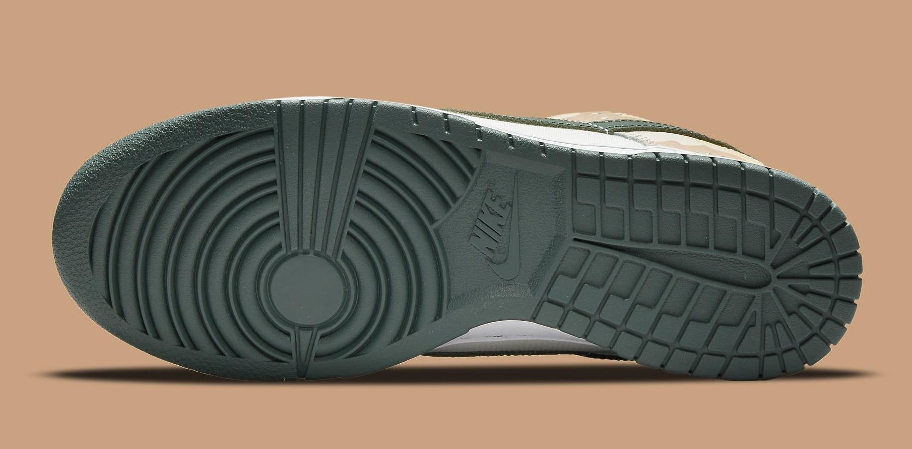 Nike Dunk Low 'Sail Multi-Camo' DH0957-100 Outsole