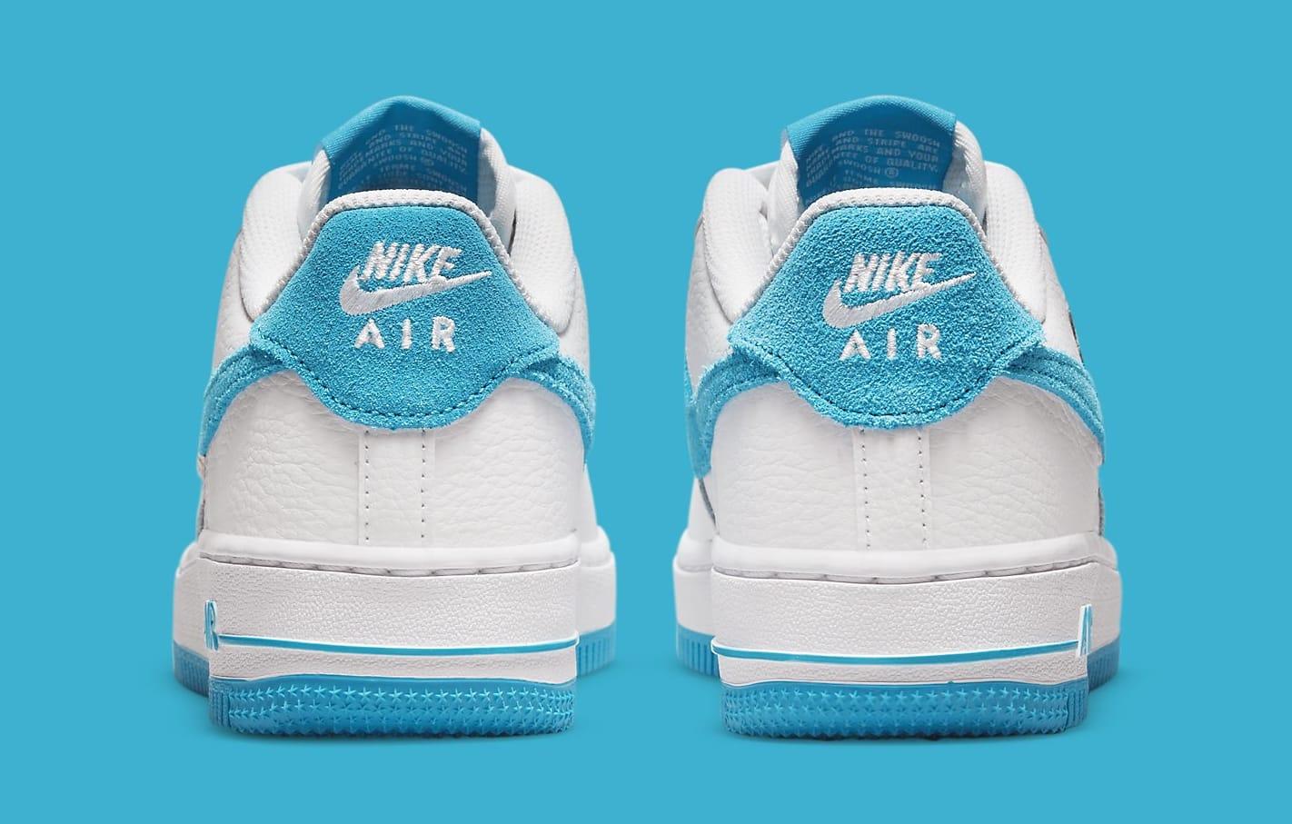 Nike Air Force 1 Low GS 'Space Jam' DM3353-100 Heel