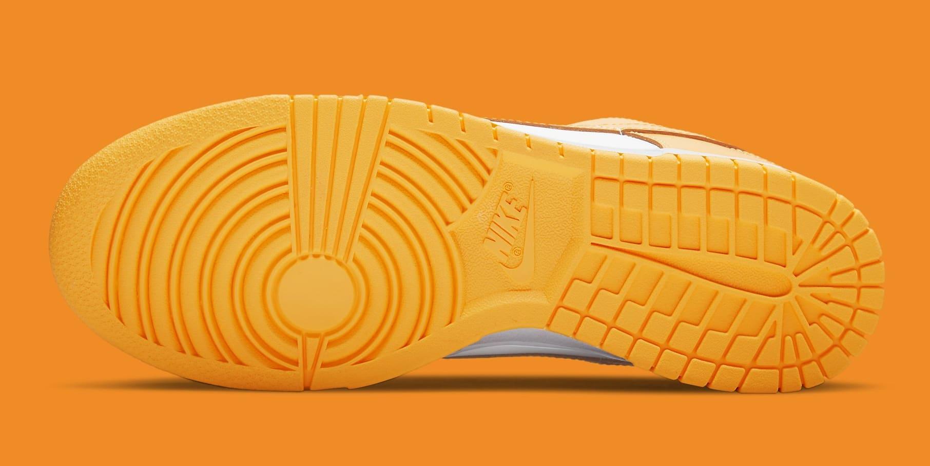Nike Dunk Low Laser Orange Release Date DD1503-800 Sole