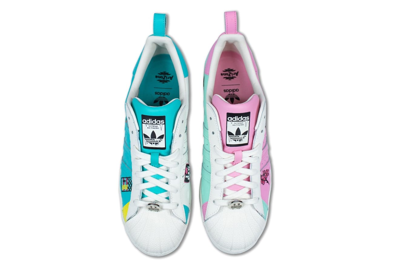 Arizona Iced Tea x Adidas Superstar Collection Release Date | Sole ...