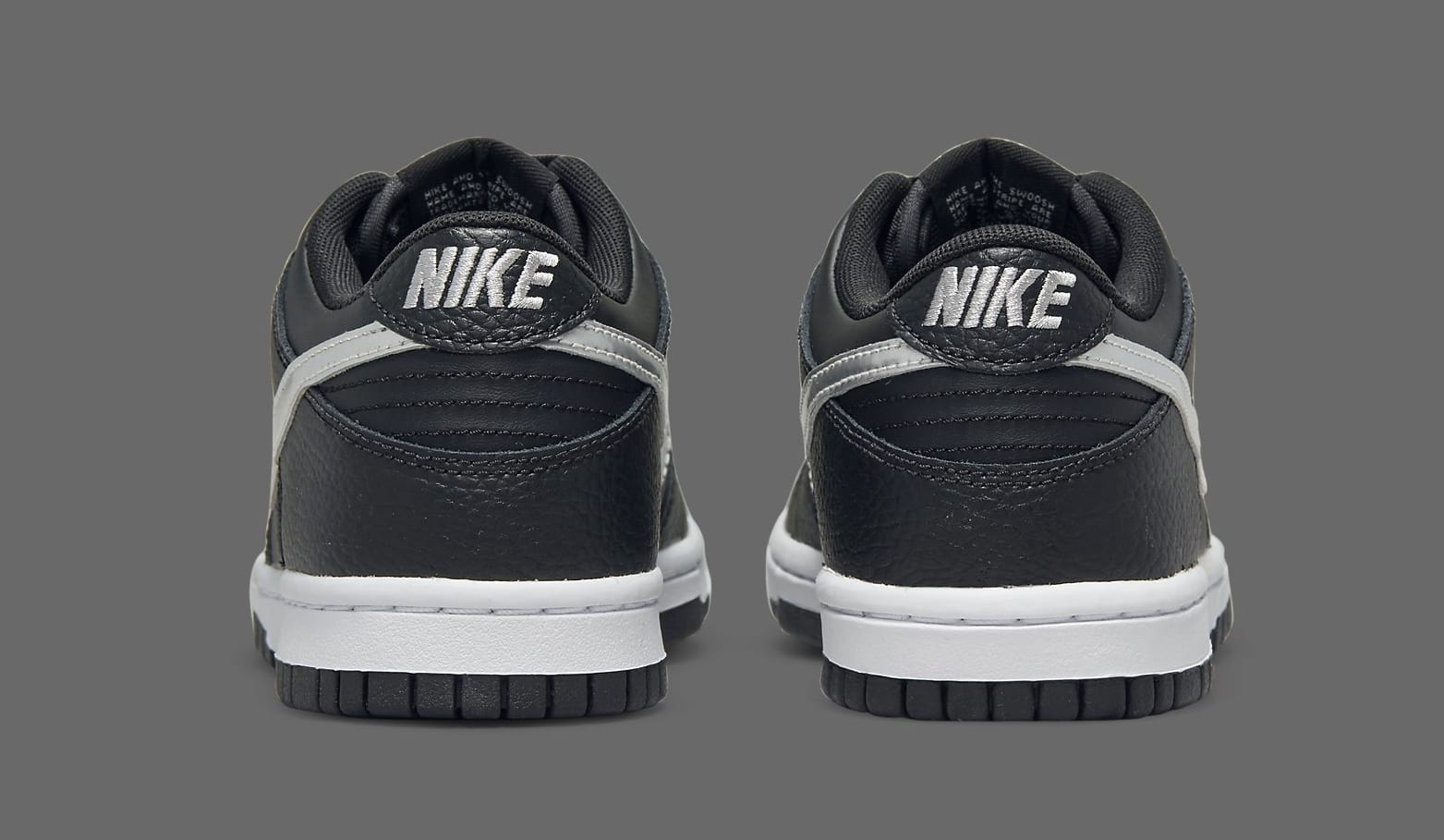 NBA x Nike Dunk Low San Antonio Spurs 75th Anniversary DC9560-001 Heel