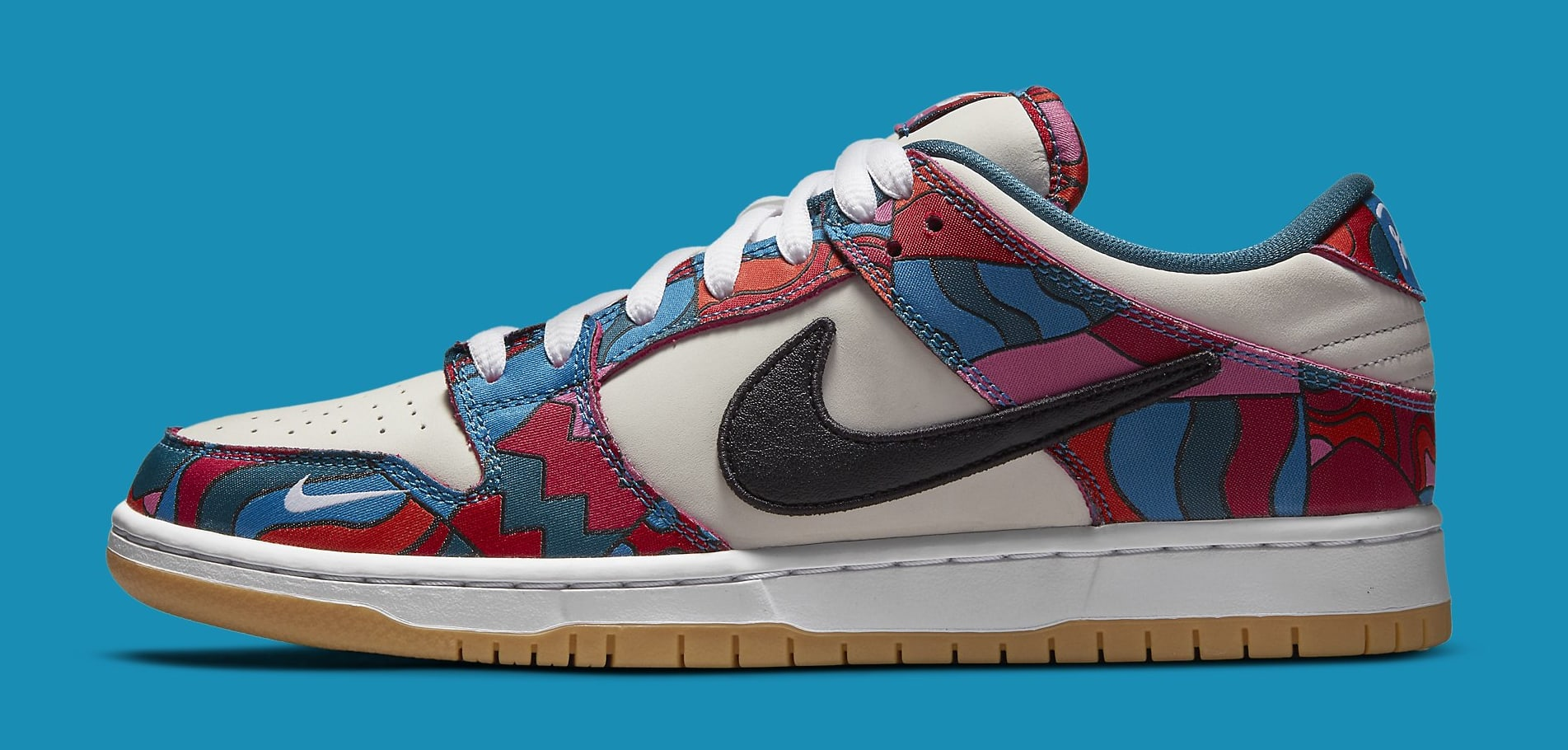 Parra x Nike SB Dunk Low DH7695-600 Lateral