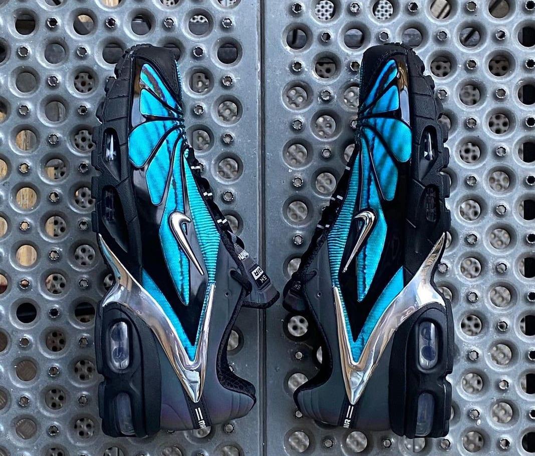 Skepta x Nike Air Tailwind V 'Blue' (Lateral)