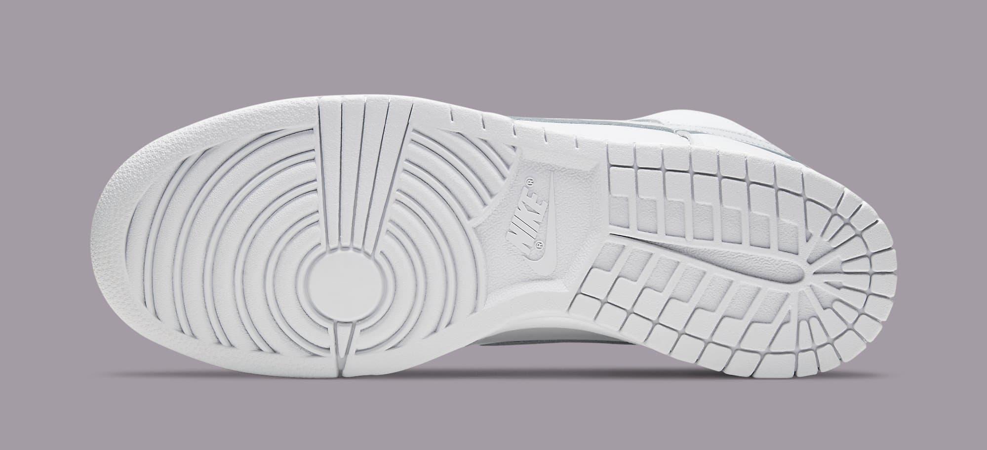 Nike Dunk High 'Pure Platinum' CZ8149-101 Outsole