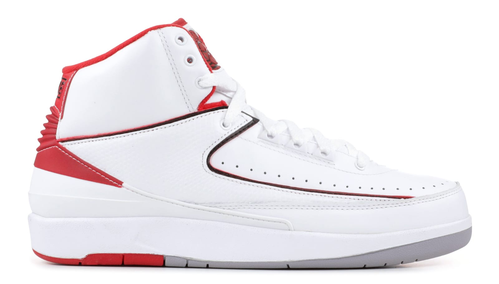 Air Jordan 2 'White/Red'