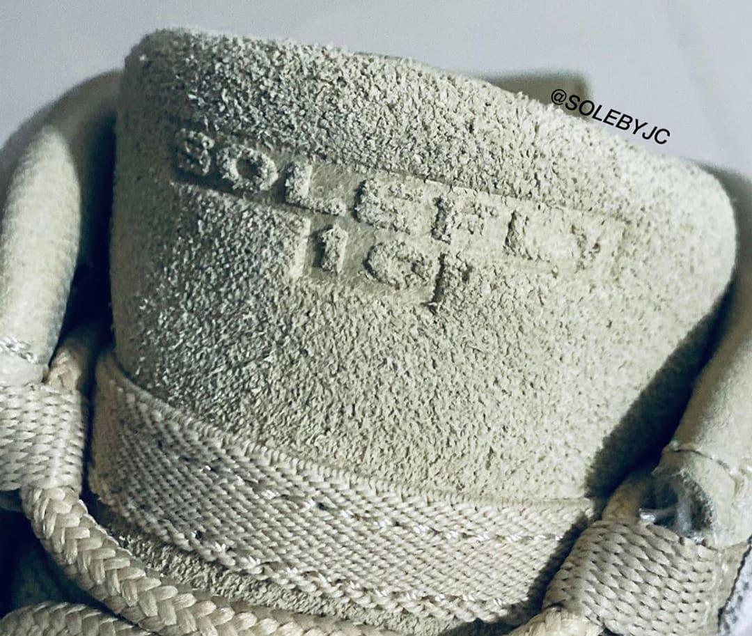 SoleFly x Air Jordan 10 '10 Year Anniversary' Tongue