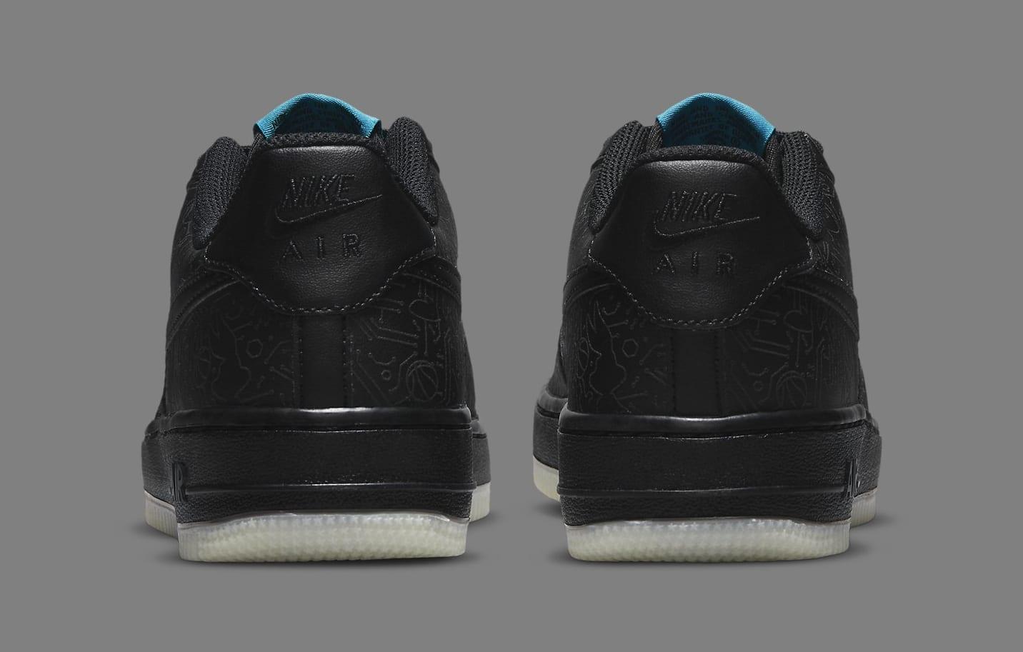 Nike Air Force 1 Low GS 'Space Jam' DN1434-001 Heel