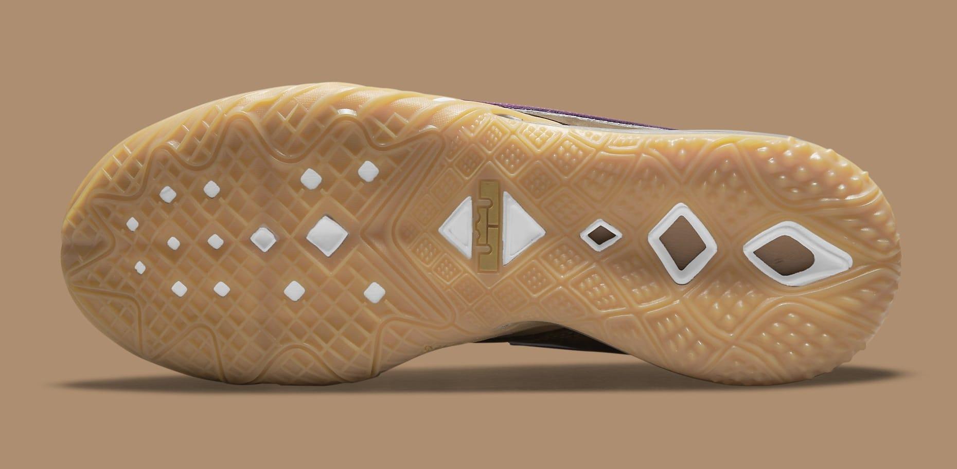Atmos x Nike LeBron 18 Low 'Viotech' CW5635-200 Outsole