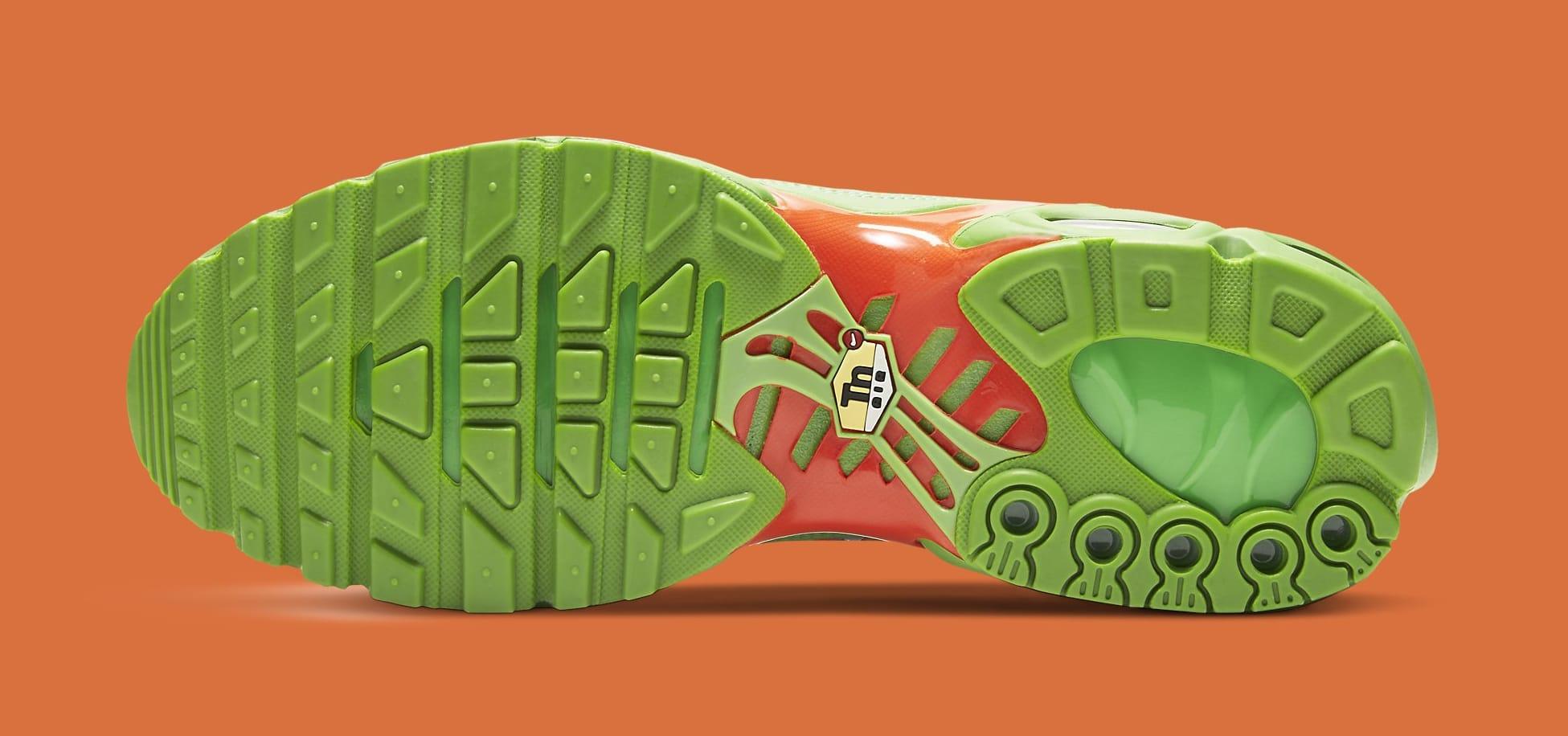 Supreme x Nike Air Max Plus 'Mean Green' DA1472-300 Outsole