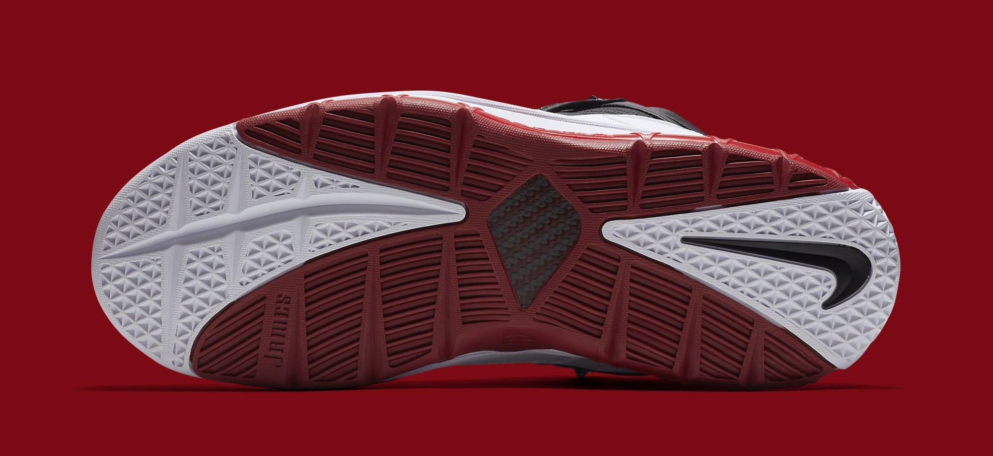 c5760017ccde2 Nike Zoom LeBron 3  Home  White Black-Varsity Crimson AO2434-101 ...