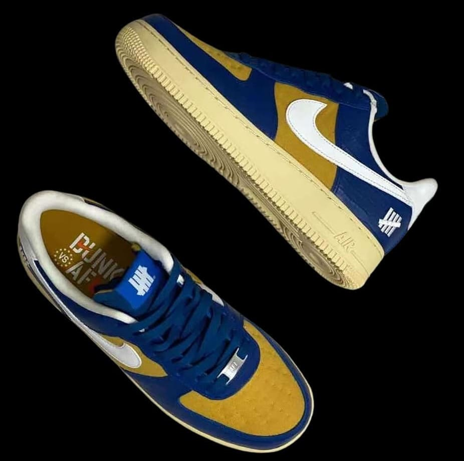 Haut Undefeated x Nike Air Force 1 Low « Dunk vs AF1 »