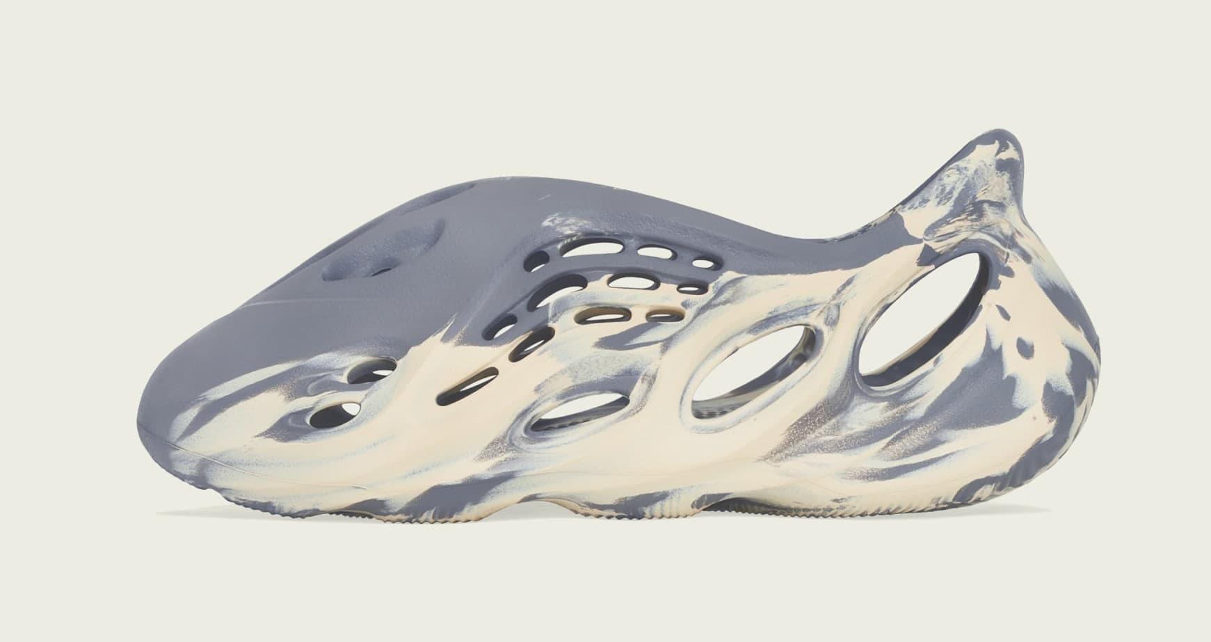 Adidas Yeezy Foam Runner 'Mxt Moon Gray' GV7904 Lateral