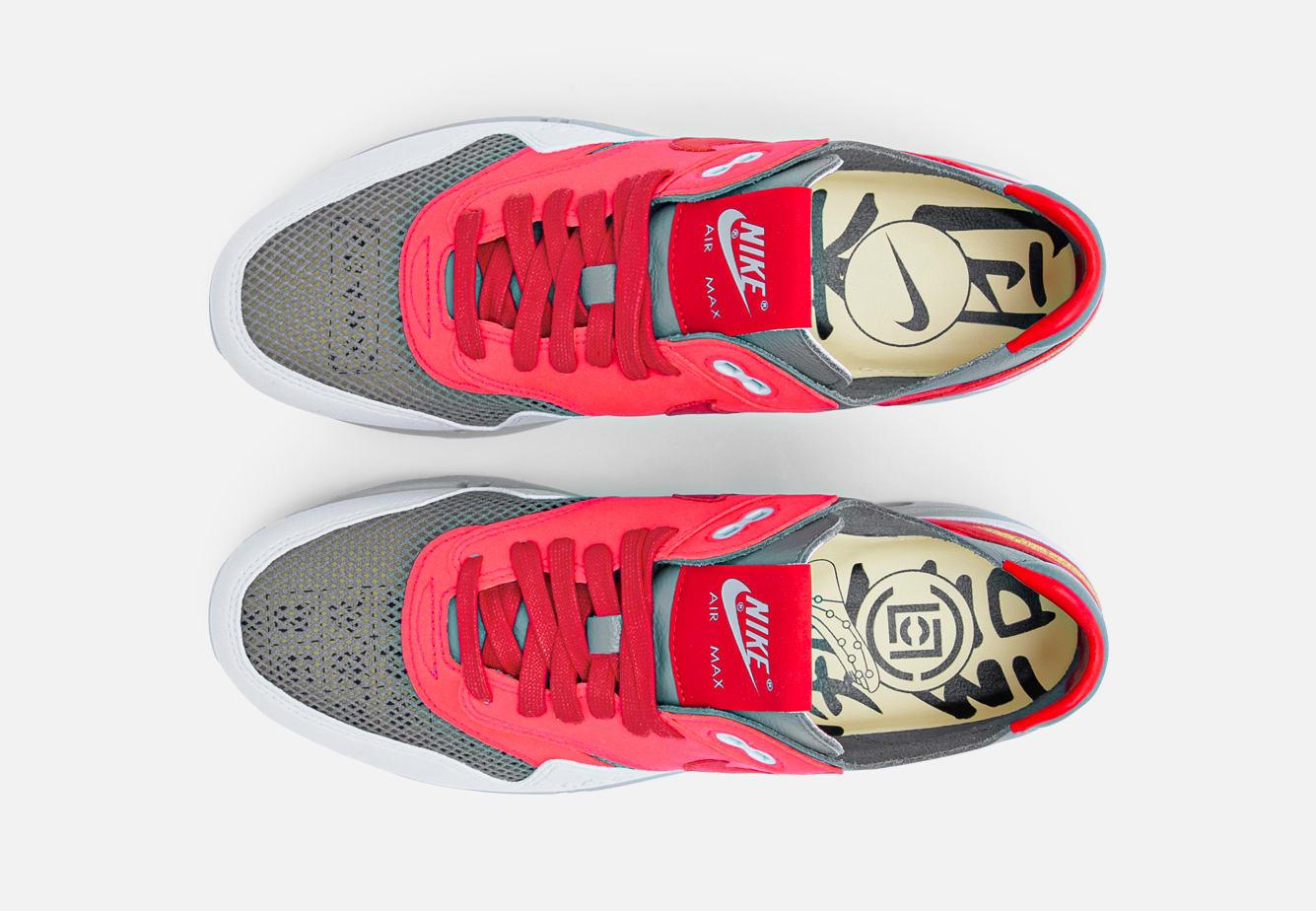 Clot x Nike Air Max 1 'K.O.D.' -Solar Red Top