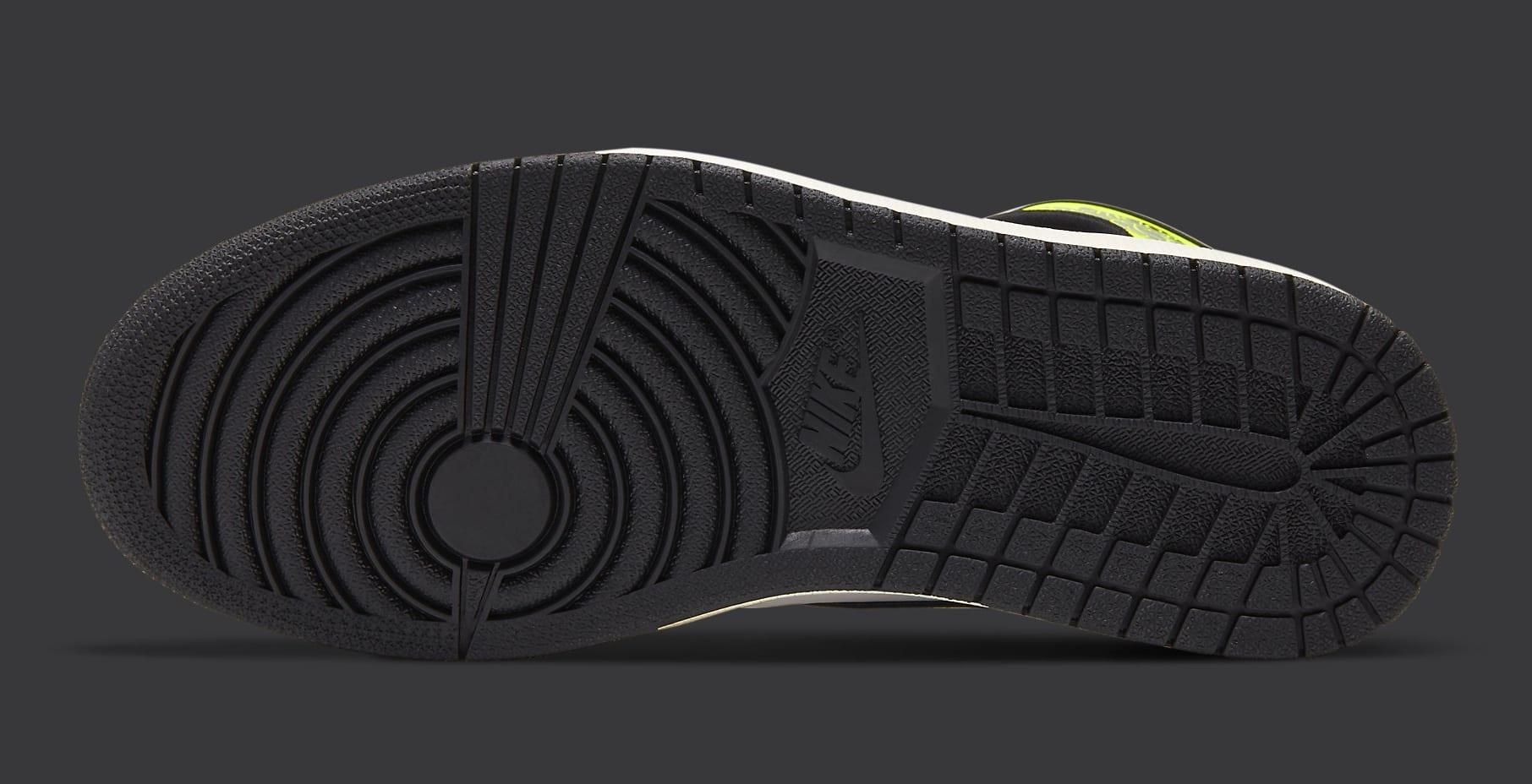 Air Jordan 1 Volt Gold Release Date 555088-118 Sole