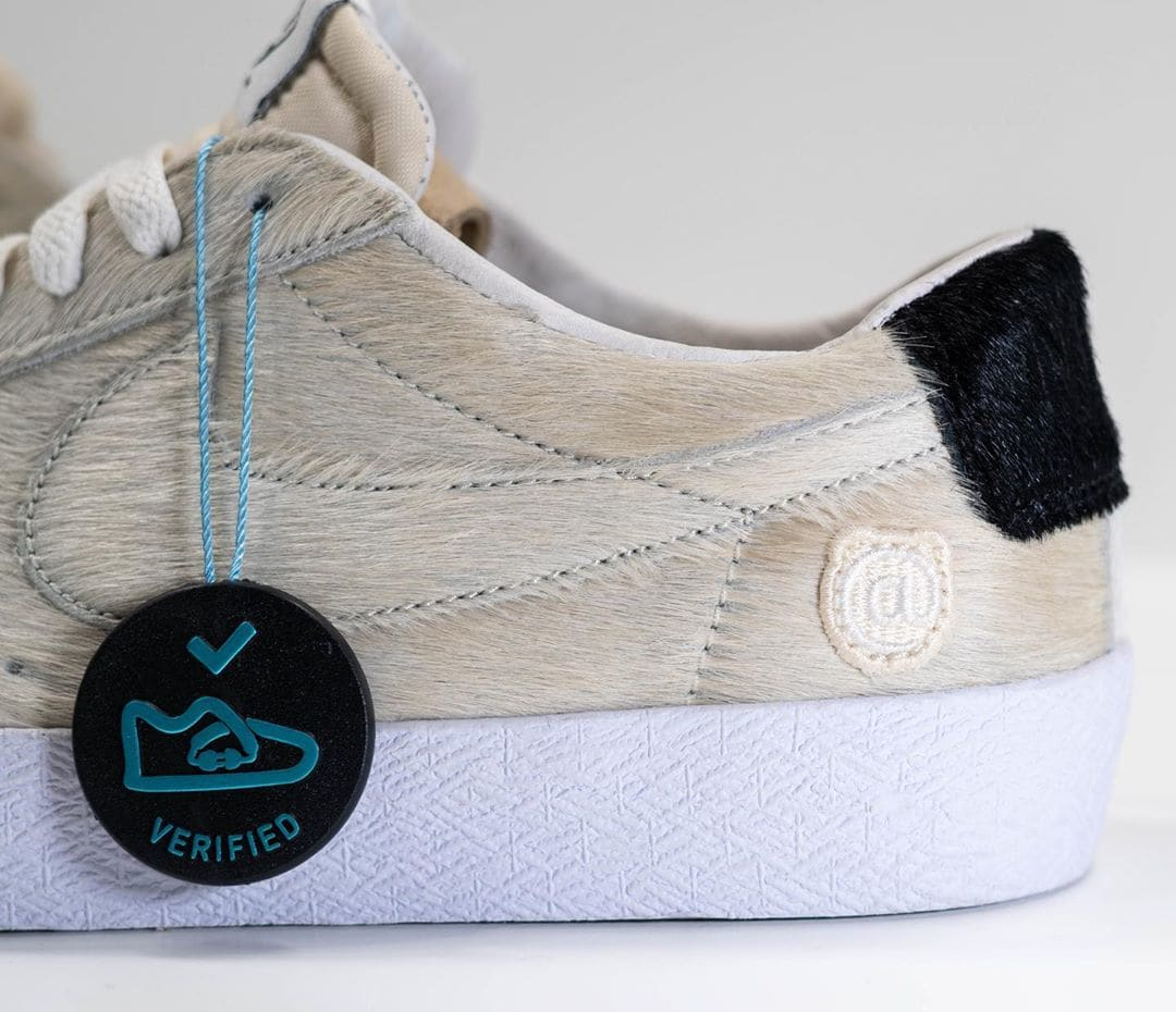 Medicom x Nike SB Blazer Low 'Be@rbrick' Sample CZ4620-200 Lateral