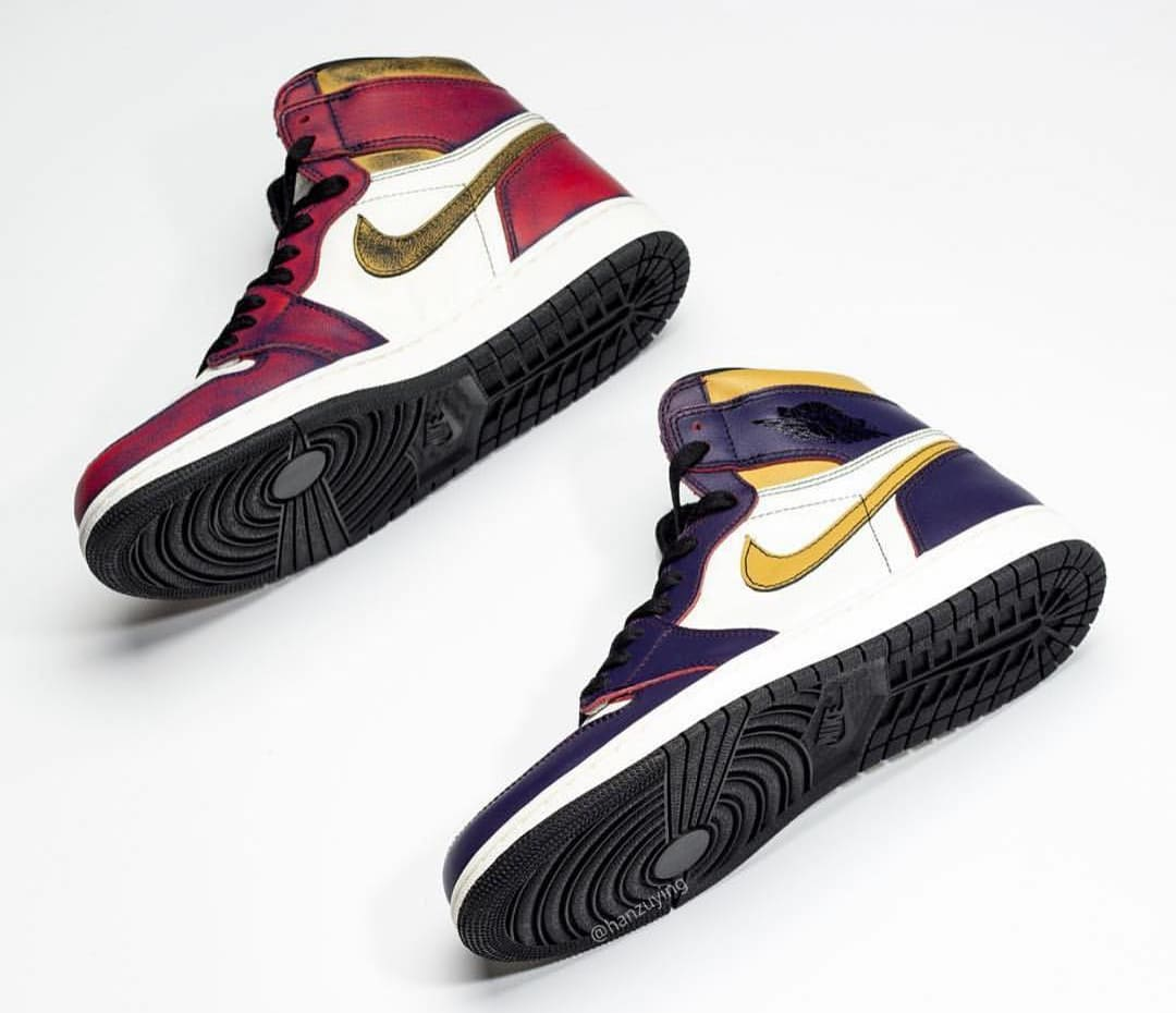 superior quality various styles best sale Nike SB x Air Jordan 1 'Lakers' Release Date | Sole Collector