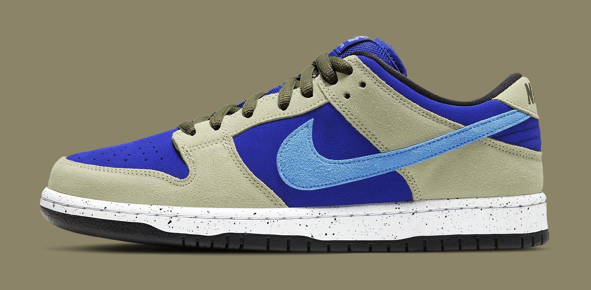 Nike SB Dunk Low 'ACG Caldera' BQ6817-301 Lateral