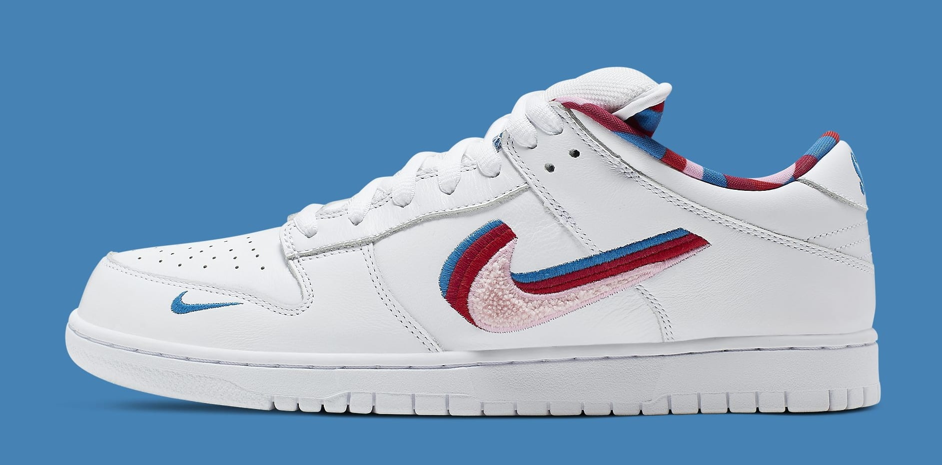 Parra x Nike SB Dunk Low CN4504-100 Lateral