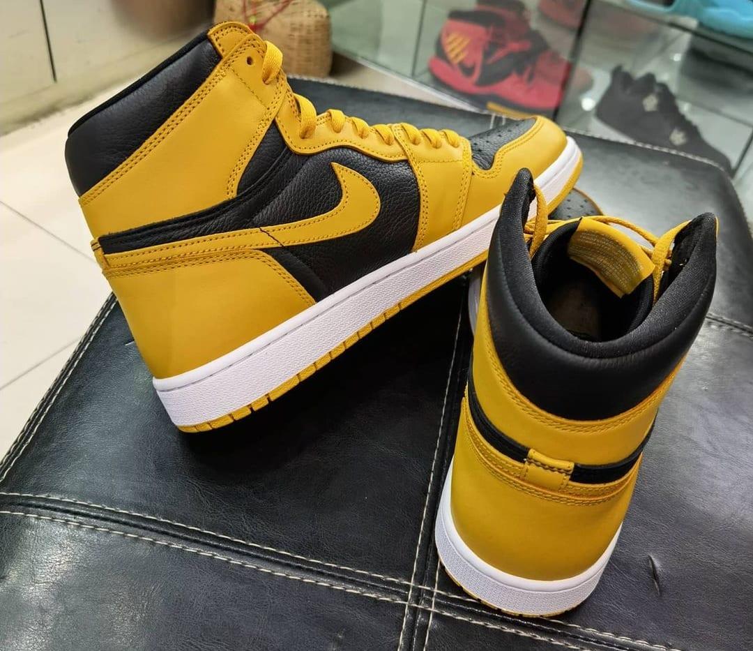Air Jordan 1 Retro High OG 'Pollen' 555088-701 Heel